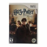 Harry Potter and the Deathly Hallows: Part 2 (Nintendo Wii, 2011) w/Manual CIB