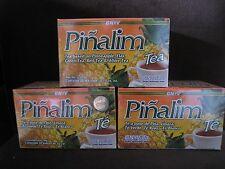 3 X Pinalim Te De Pina GN+Vida .Lose Weight, Original Pineapple Tea  EXP 2024