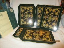 Vintage Cloverleaf Paradise Cork Backed Placemats in Box Set 6