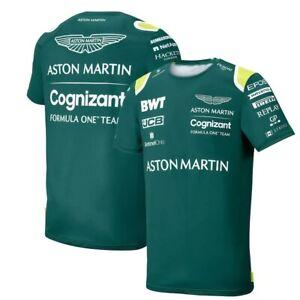 Aston Martin F1 style T Shirt