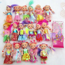 10 pcs Hot-Selling play house Accessories (doll+clothes) Doll Kelly For Children