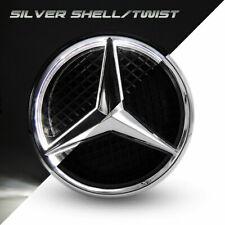 Illuminated Car Motors Led Grille Logo Emblem Light For Mercedes Benz Twist Type (Fits: Mercedes-Benz)
