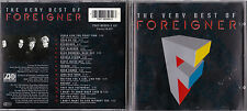 CD 16T THE VERY BEST OF FOREIGNER DE 1992 ATLANTIC TBE