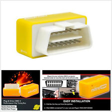 NEW OBD2 Performance Tuning Chip Box For Gas/Petrol Vehicles Plug & Drive