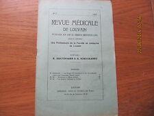 Revue Médicale de Louvain N°2 1932 Hormones et réflexes sexuels