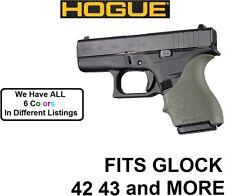 OD GREEN Hogue Rubber HandAll Beavertail Grip Sleeve Glock 42 43 G42 G43