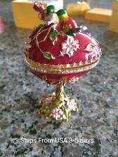 New listing Lovely Bird Faberge Egg