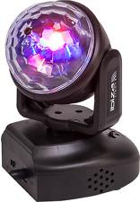 IBIZA LUCE Helper Astro In movimento Testa Luce RGB da discoteca dj party telecomando inc