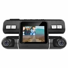 Pruveeo MX2 Dash Cam Front and Rear Dual Camera Wide Angle Driving Recorder DVR
