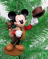 Disney Mickeys Christmas Carol Mickey as Bob Cratchit Figure Christmas Ornament