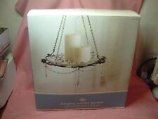 Hanging  Candle Holder Garden NIB