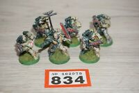 Warhammer 40k Space Marine Tactical Squad x 6 Marines LOT 834