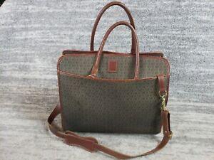 Hartmann Diamond Jacquard Tote Shoulder Bag Carry On