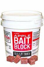 Rat Poison Bait Blocks 144 Packs Apple Mouse Mice Vole Rodent Bite Killer Nugget