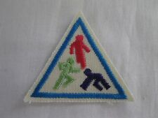 Girl Scouts Brownie Play Games Sports Iron-on Patch Sash Vest Try It! NEW