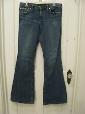 Juicy Couture Flare Jeans SZ 30 X 33 Cut #610706 Made In USA