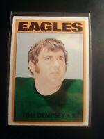 1972 Topps #175 Tom Dempsey Eagles NrMt NM Sharp High Grade