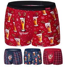 Cornette 007 calzoncillos boxer navidad caja de regalo señores ropa interior Str...