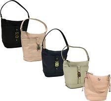 Tommy Hilfiger Womens Purse Hobo Shoulder Bag Zip Close Handbag Tote New Nwt Th