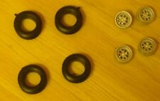 """1/43rd scale racing alloy wheels for cars with 13"""" wheels by K&R Replicas"""