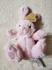 "Animal Adventure Daisy Bunny Plush Pink 8"""