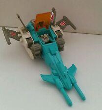 Transformers g1 headmaster brainstorm Takara hasbro made in japan 1986 completo.