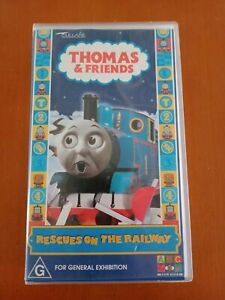 Thomas & and Friends (Tank Engine): Rescues on the Railways - RARE ABC Kids VHS