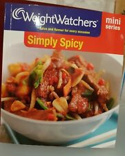 New Weight Watchers Mini Series: Simply Spicy Recipe Book RRP 4.99