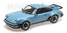 Minichamps 125066105 Porsche 911 Turbo 1977 Gulf blu 1:12 # in #