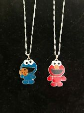 Baby Elmo & Baby Cookie Monster Necklace