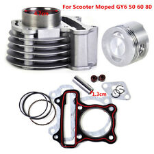 47mm Big Bore Cylinder Piston Rings Kit for GY6 50cc-80cc 4 Strokes Scooter ATV