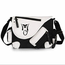 Michael Jackson MJ Cat Women Girls Shoulder Bag Crossbody Messenger School Bags#