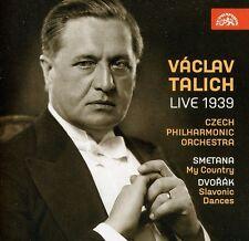 Vaclav Talich, Vaclav Talichm; Czech Po - Live 1939 [New CD]