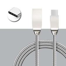 USB Type-C Cable Cargador Metal Resistente 2.0 (1M) para HTC Smartphone