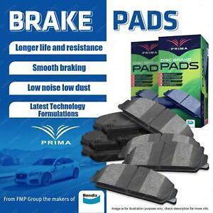 8Pcs Prima Brake Pads Set for Mazda 323 Astina Protege BJ 1.8 FWD 1998-2004