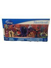 "New Sealed Disney Panoramas ""Disney Villains"" 750 Piece Puzzle by Mega Brands"