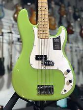 New 2019 Fender Player FSR Precision P Bass, Maple Fingerboard, Electron Green