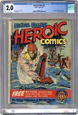 Heroic Comics #6 CGC 2.0 1941 0354991017
