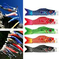 5PCS Japanese Koinobori Wind Sock Carp Fish Streamer Kite Flag Hanging Decor Lot