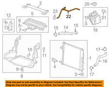 Cadillac GM OEM 13-16 ATS 2.0L-L4 Radiator-Upper Inlet Hose 22908202