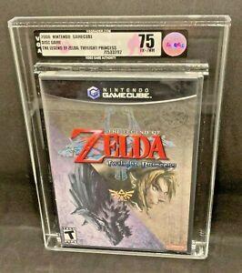 Nintendo Gamecube The Legend of Zelda Twilight Princess Brand New Sealed VGA 75