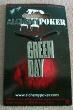 More details for alchemy poker pewter pendant official band merchandise pp433 greenday logo. .