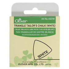 CLOVER TRIANGLE TAILORS CHALK WHITE - SEWING DRESSMAKING - CL432/W