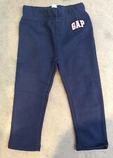 BABY GAP NAVY BLUE SWEATPANTS WITH SMALL WHITE LOGO ON LEFT LEG - 2y BNWT