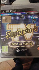 TV SUPERSTARS FACCE DA REALITY  PS3  SIGILLATO ITALIANO RICHIEDE  MOVE
