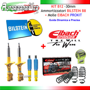 Kit Assetto BILSTEIN B12 -30mm BMW SERIE 1 (E87) 123d Kw 150 Cv 204
