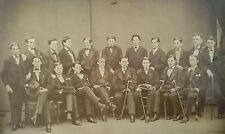 1870's Photograph Haverford College PA by Gihon & Jones PA Richard T. Cadbury