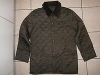 barbour liddesdale quilted jacket coat khaki 100%authentic new XS