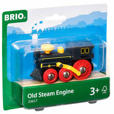 BRIO 33617 Old Steam Engine for Wooden Train Set