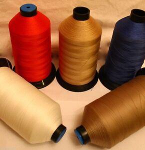 Bonded Nylon Thread Heavy duty sewing machine 40's 1000M & 5000m & M60 8000m